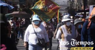 Marcha de gremiales en Cochabamba. | José Rocha