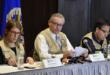 La delegación de la OEA cuando presentó su informe sobre las elecciones en 2019.