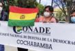 Representantes de Conade en Cochabamba. | Los Tiempos